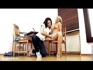 Oral Angels by Sapphic Erotica - lesbian love porn with Irie - Audrey
