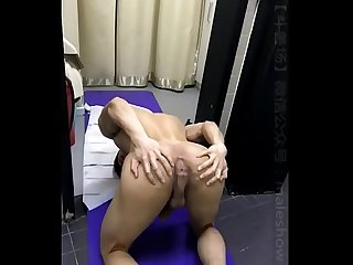 Hot Chinese boy cum