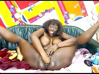 Big boobs ebony girl anal dildo webcam more at xxxprocams com
