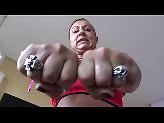 Fbb ruth big muscles femalebodybuilder mixtedwrestling domination
