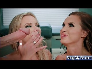 Slut patient lpar briana banks nikki benz rpar seduce doctor for hard sex action movie 08