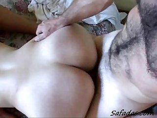 Guy fucks two girls (homemade)