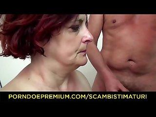 Scambisti maturi chubby italian mature anal gangbang orgy