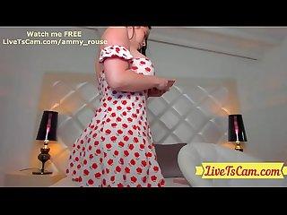 Amazing Curvy Goddess Tranny LiveTsCam.com