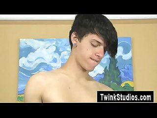 Hot twink jae landen and keith conner are just mates draping out on
