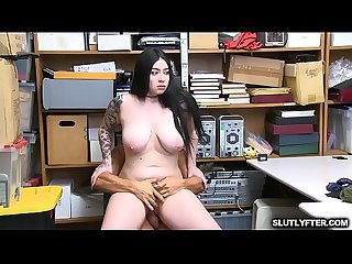 Amilia Onyx hops on top and bounces her wet tight twat !