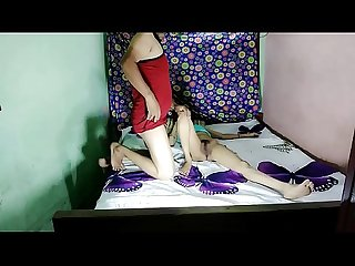 Very hot indian Desi sexy bhabhi acting as young girl fucking pussy hd