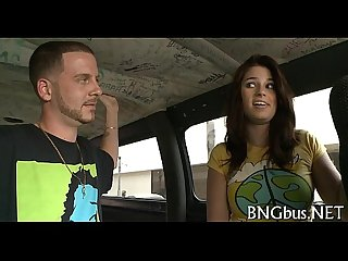 Gangbang bus trailer