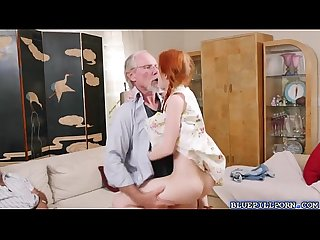 Sexy hot chick Dolly Little loves a huge cock to fuck