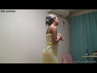 Japanese Babe in the Shower