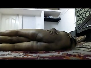 Cheating Tamil Housewife undress and showing ass with Husband Friend