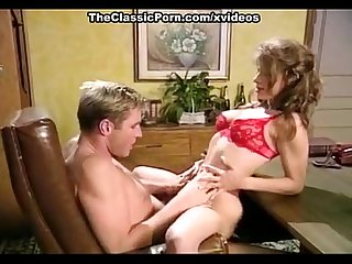 Nikki Dial, Woody Long in hard office sex on classic porn auditions