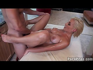 Lexi Busty Blonde Massage