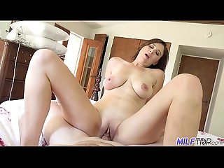 MILF Trip - MILF babe Alice Chambers gets messy facial - Part 1