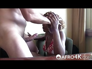 African Porno Casting Turns Hardcore