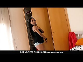 VIP SEX VAULT - Sexy Indonesian Killa Raketa in hot FFM audition
