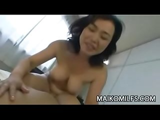 Japanese Granny Wet Pussy