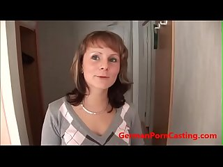 Young German Amateur Teen Gets Fucked - GermanPornCasting.com