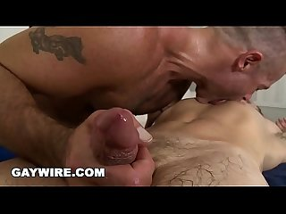 GAYWIRE - Post Workout Gay Massage With Trace Michaels and Ari Sylvio