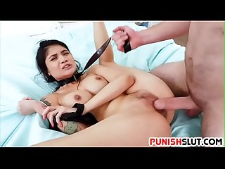 Tight Asian With Big Boobs Fucked Hard And Rough
