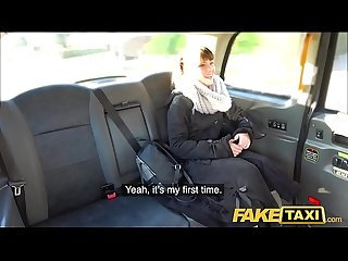 Fake Taxi Hairy wet French tight pussy penetrated by big cock