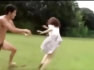japanese girl chased and fucked.MP4