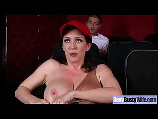 Busty Milf Wife (rayveness) Bang Hardcore In Front Of Camera movie-23