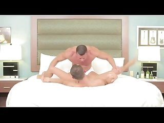 Gentle and smooth gay cock massage