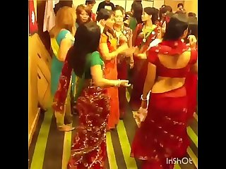 NEPALI SISTER IN LAW CURVY HIP DANCE 2(her sexy waist will make ur cock go hard in pants)