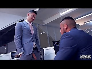 Klein Kerr FUCK Lukas Daken TO WIN THE COMPETITION OF THE WEEK AT THE OFFICE