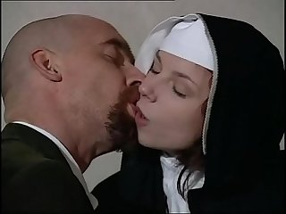 Young novice nun fucked in a monastery