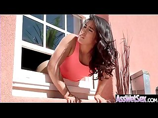 (Mia Li) Huge Butt Oiled Girl Enjoy Anal Hardcore Intercorse clip-28