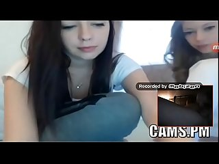 2 teen girls show all as i masterbate