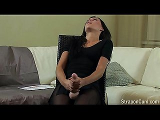 User requested: Ballerina strapon fucked