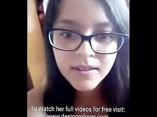 Hot Indian teen stripping nude, watch full video free on - www.desipornlover.com