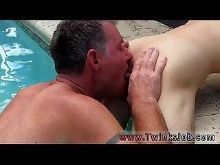 Homemade gay rim tube Brett Anderson is one fortunate daddy, he's met