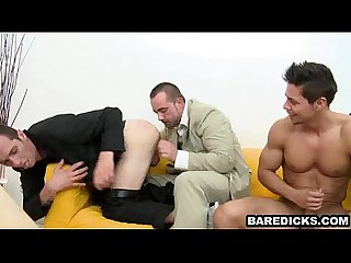 Four horny studs having some hot and steamy group sex