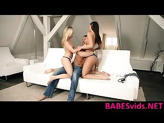 Iwia and Bella Baby - Menage A Trois