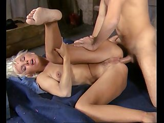 Beautiful Busty Blonde Babe Fucked Hard and Anal, Helen Duval