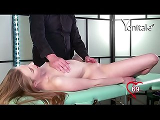 Yonitale: orgasmic massage with hot blonde Cindy Y